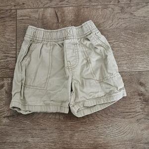 3/$12 Carter's boys shorts size 18 m